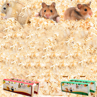 1kg Wood Chips Warm Deodorant Sterilization Bath Sand Shavings Pet Mat for Small Pets Hamster Golden Bear Guinea Pig Accessories