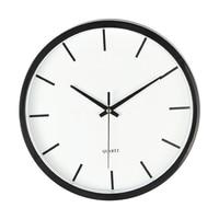 White Plastic Bedroom Wall Clock Study Room Home Wall Clock Digital Clocks Large Decorative Clocks Duvar Saatleri Watch Brief