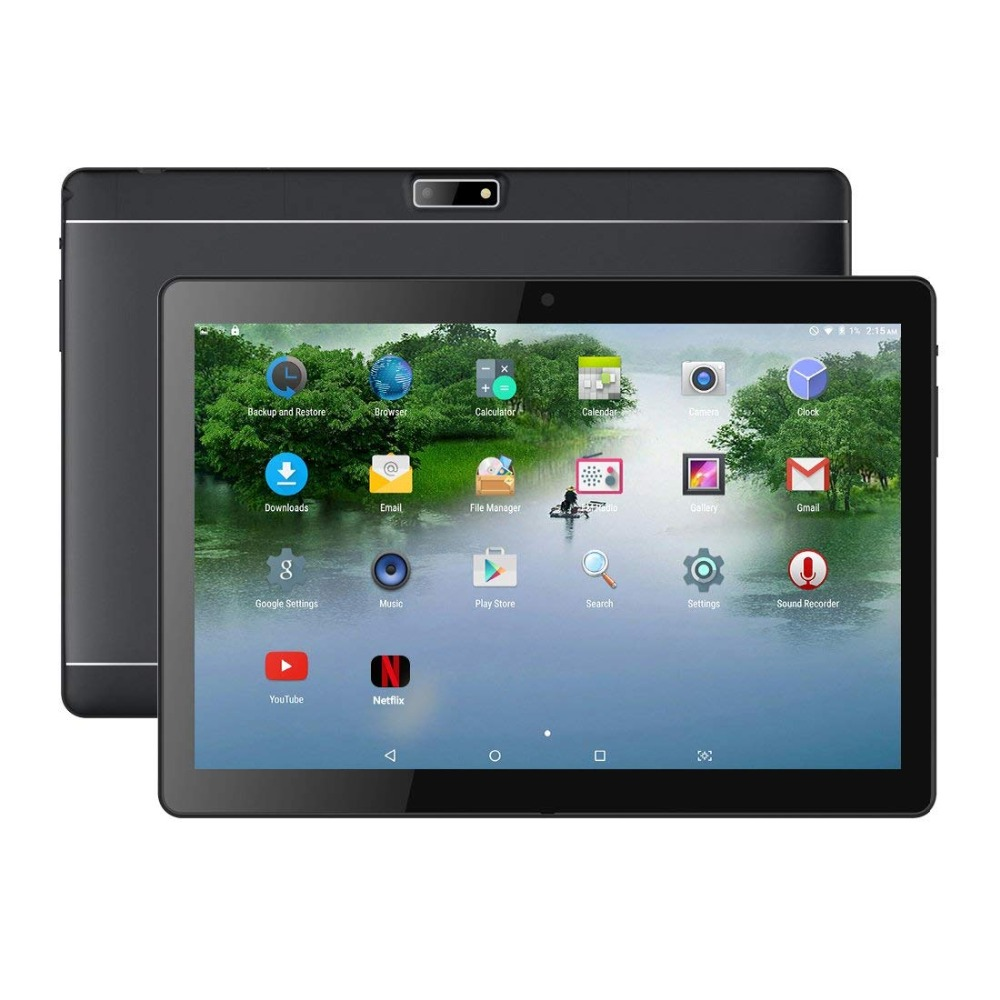 Tablet PC Andriod 7.0 Système WiFi Tablet IPS 1920x1200 Écran Tactile 2 gb RAM 16 gb ROM Bluetooth 2.0 + 5.0 mp Double Caméra
