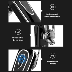 Image 5 - Wireless music earphone noise cancelling bluetooth headphone handsfree with microphone super long standby time