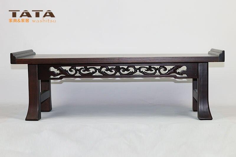 asitico muebles de madera coreano comedor patas de la mesa plegable rectngulo cm