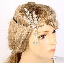 The Great Gatsby same paragraph bride crown headdress fashion wedding hair accessories jewelry woman tiara wholesale
