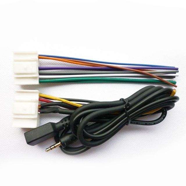 Moonet Car Stereo Aftermarket Radio Antenna Wire Harness
