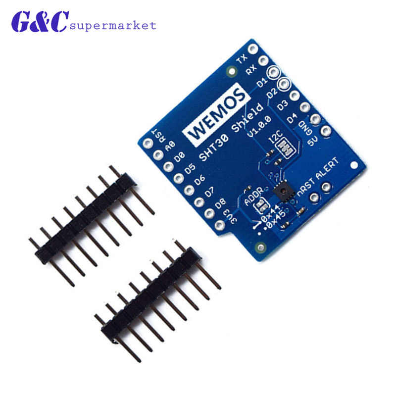 Wemos D1 Mini Shield WIFI Development Board ESP8266 Battery Shield Relay SHT30 TB6612FNG ProtoBoard Shield for arduino NodeMcu