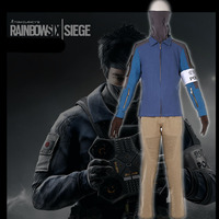 Tom Clancy's Cosplay Costume Rainbow Six Siege Jager Marius Streicher Echo Uniforms Set S 3XL