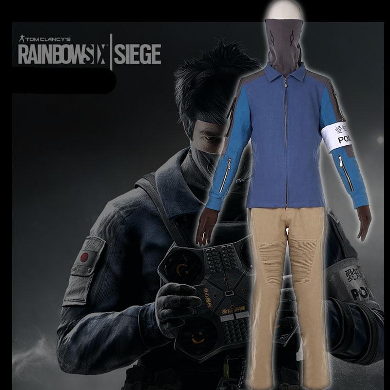 Tom Clancy's Cosplay Costume Rainbow Six Siege Jager Marius Streicher Echo Uniforms Set S 3XL