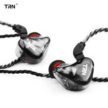 TRN X6 headphones 6BA Driver Unit Earphone 6 Balanced Armature HIFI Monitor Stage Sports Running Detachable 2Pin fone de ouvido