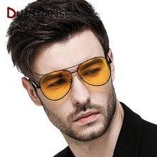 DUOYUANSE Day & Night Polarized Sunglasses High Quality Metal  Frame Men Sun Glasses Fashion Drive Classics Eyeglasses
