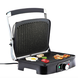 Electric Grill Machine BBQ Meat Roast Grill DIY Non-stick Pan Steak Sausage Barbecue Machine Smoke Free Grilling Machine WD-385