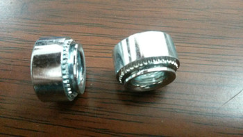 SS-024-3 self-clinching nut, Carbon steel ,zinc, PEM standard,instock, Made in china фото