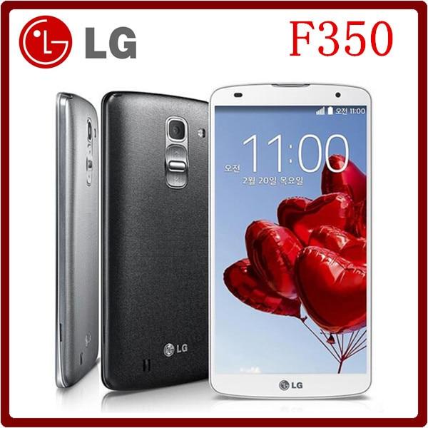 """Цена за F350 2016 Горячей продажи LG Optimus G Pro 2 F350 Superscreen Оригинальный Разблокирована Quad Core 3 ГБ RAM 32 ГБ ROM 5.9 """"13.0MP 4 Г Смартфон"""