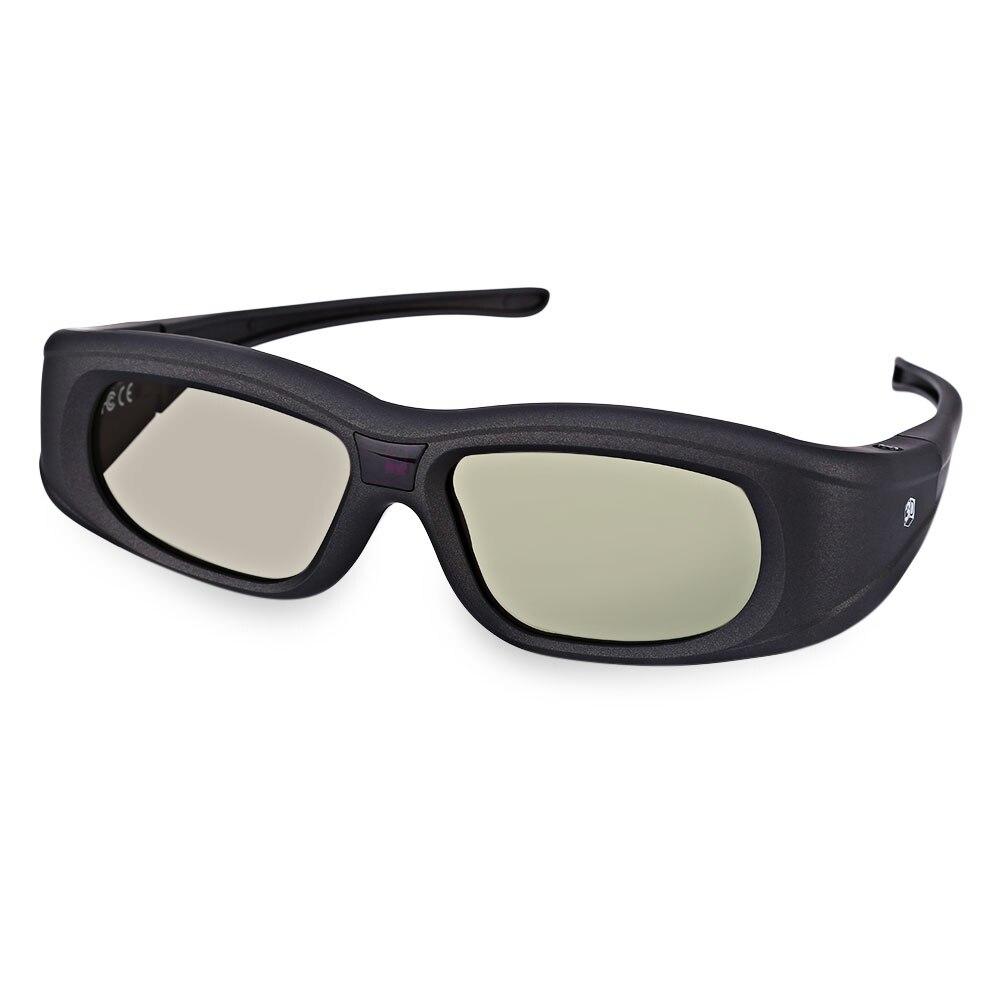 Professional <font><b>Gonbes</b></font> G05A HD 3D Glasses Lightweight <font><b>Bluetooth</b></font> <font><b>Infrared</b></font> <font><b>Signal</b></font> <font><b>Active</b></font> <font><b>Shutter</b></font> 3D Movie Game Crystal Glasses For TV