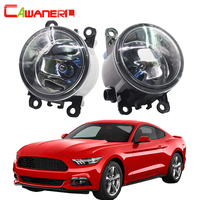 Cawanerl For Ford Mustang 2005 2013 H11 100W Car Halogen Fog Light Daytime Running Lamp DRL