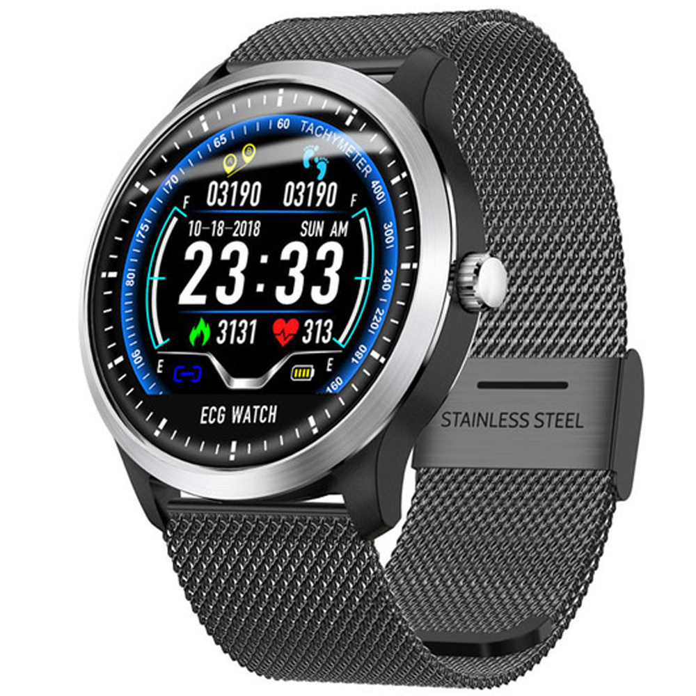 Smartwatch N58 Smart Watch Sports Watch ECG+PPG HRV Report Heart Rate Blood Pressure Test IP67 Waterproof Smart WristbandSmartwatch N58 Smart Watch Sports Watch ECG+PPG HRV Report Heart Rate Blood Pressure Test IP67 Waterproof Smart Wristband