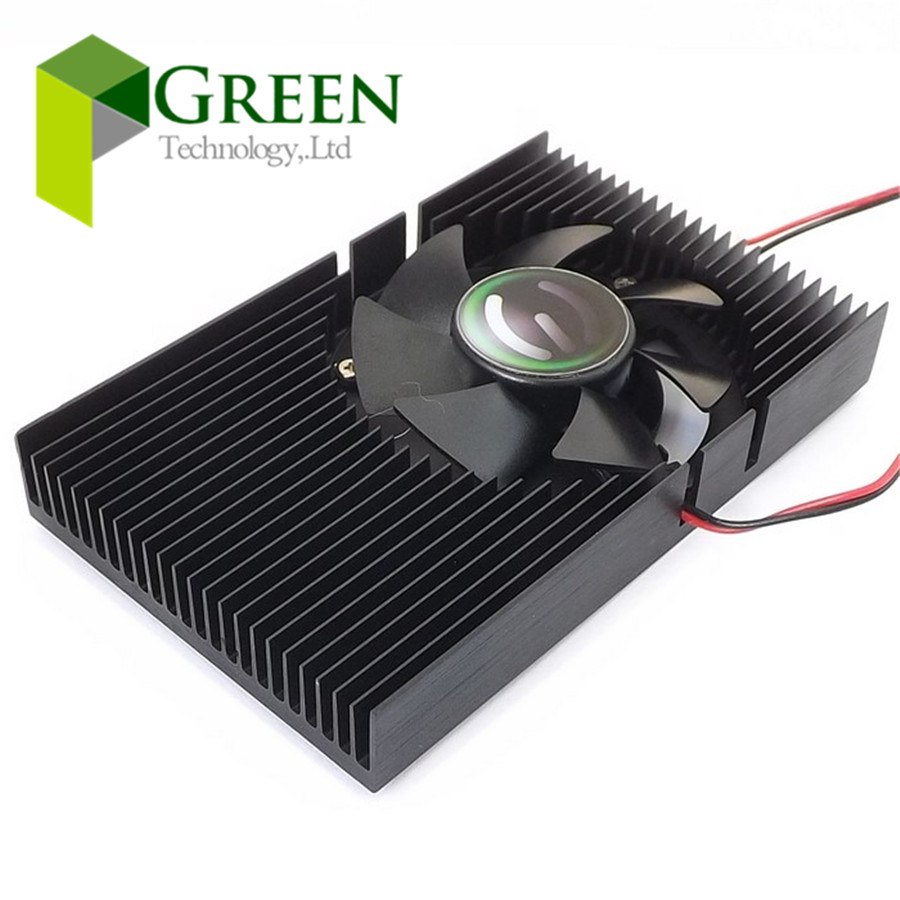 Cooler Master FY04510h12SAA 88x55x12mm Cooling Fan For NVIDIA GeForce G210 Graphics Card With Heat Sinks 12V 0.2A