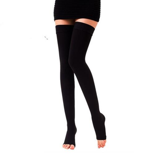 One Pair Medical Compression Stockings Varicose Veins 20-30mmhg Pressure High - Above The Knee Compression Stockings