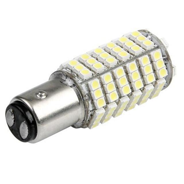 1 шт. Горячая 1157 2396 P21/5 Вт 3528 SMD 120 светодиодов автоматический поворот хвост сигнала лампа лампы накаливания 12 В белый свет фар
