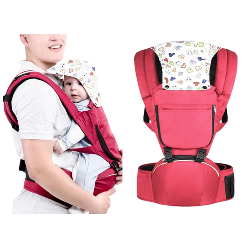 Multi-Function Baby Lumbar Safety Shoulder Breathable Mesh Hold Back Seat
