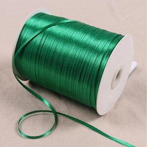 Атласная лента шириной 3 мм, 20 метров в партии, 34 Цвета, полиэфирная шелковая ткань, тесемки для рукоделия подарочная упаковка, свадебное укр...