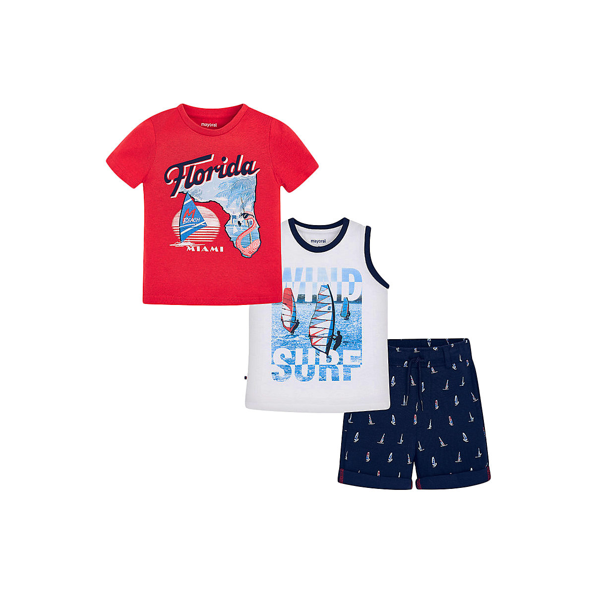 Фото - Children's Sets MAYORAL 10681467 set of clothes for kids breeches t-shirt legs shirt shorts girls and boys shein kiddie girls white striped side casual top and shorts two piece set clothes sets 2019 spring long sleeve kids suit set