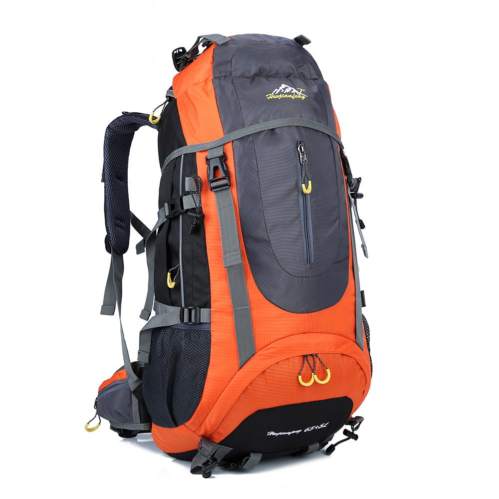 70L Waterproof Hiking Mountain Mochila Bag Outdoor Sports Backpack Large Tourism Camping Travel Climb Backpack