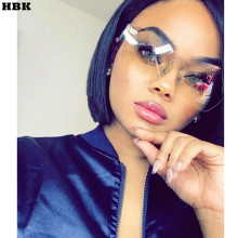 Candy Color Cat Eye Sunglasses Women Clear Lens Big Frame Shades Acetate Eyewear Ladies One Piece Rivet Sexy Sun Glasses Female