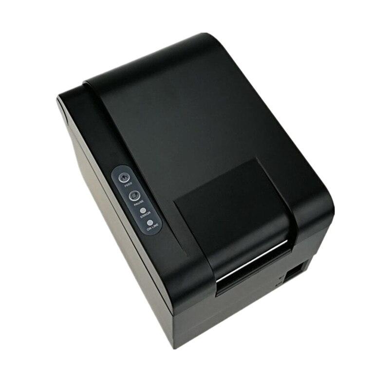 En gros tout nouveau 20-58mm largeur thermique code à barres autocollant imprimante Qr code le non-séchage étiquette code à barres POS imprimante imprimer rapidement