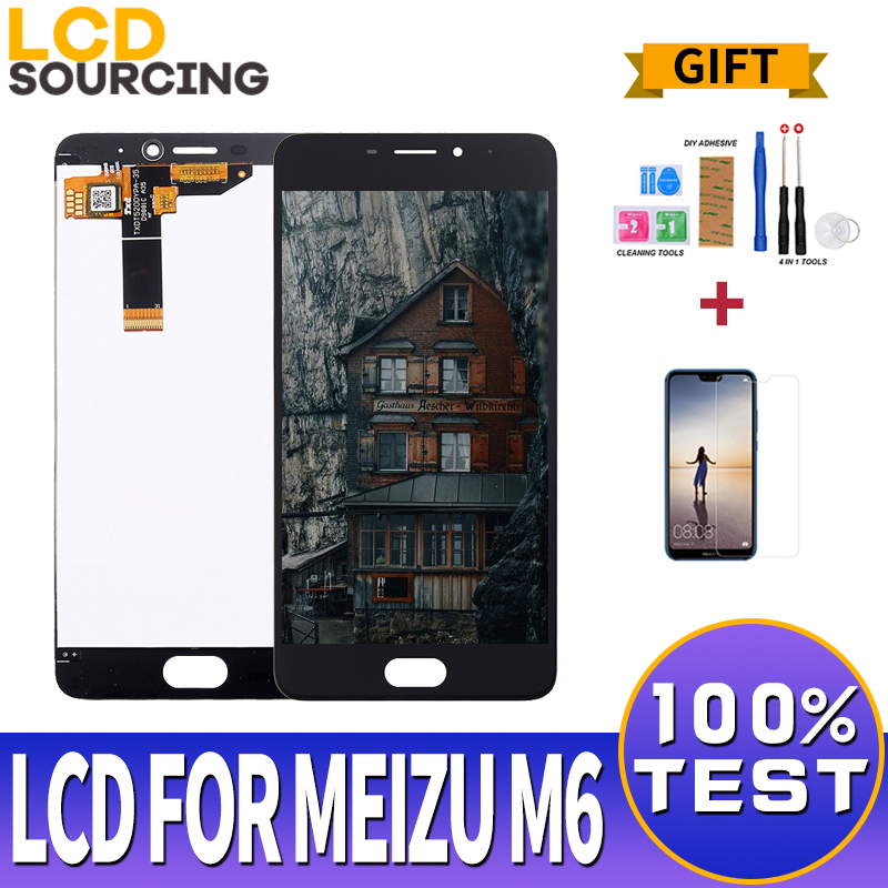 5.2 inch <font><b>LCD</b></font> Display For <font><b>Meizu</b></font> <font><b>M6</b></font> <font><b>LCD</b></font> Screen touch screen with Frame for Meilan 6 Display Digitizer Assembly M711H M711M Replace image