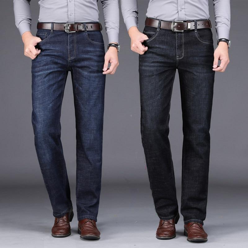 Hombres Vaqueros Moda Los Pantalones Inteligente De 2019 Corte Lc4j35RAq