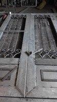 Factory custom made wrought iron doors iron double doors iron front doors iron glass doors hench idoor19