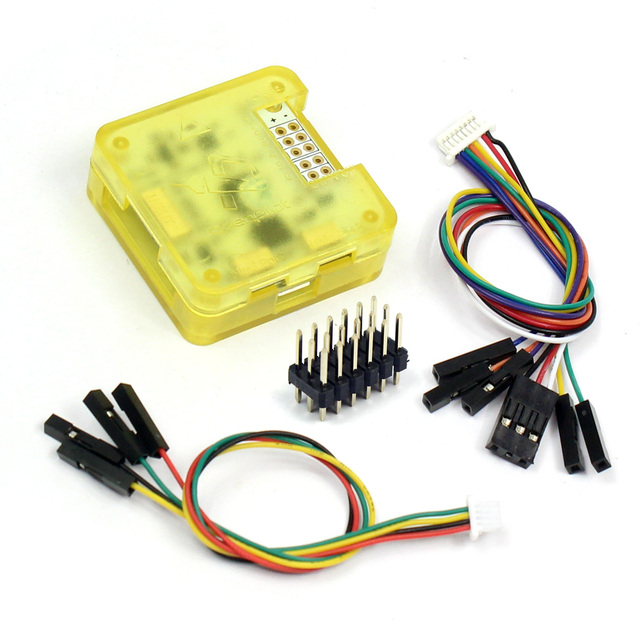 US $7 99 |JMT Betaflight 3 2 5 Firmware CC3D Flight Controller with Shell  Case for DIY FPV RC Multirotor Helicopter Racing Dron Accessory-in Parts &