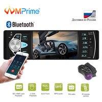 AMPrime 1 din Car Radio 4022D FM radio car Auto Audio Stereo Bluetooth Autoradio Support Rear view Camera Steering Wheel Control