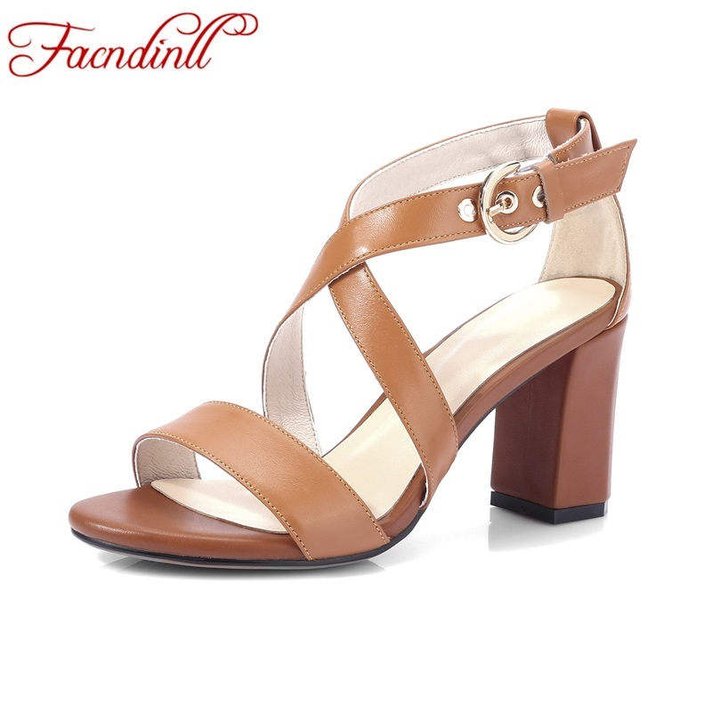 ФОТО elegant high heels genuine leather gladiator sandals women shoes woman summer party dress shoes lady sexy cross-tied office shoe