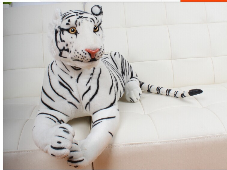 big plush tiger toys lovely white tiger toy stuffed tiger doll white tiger pillow birthday gift 90cm stuffed animal 145cm plush tiger toy about 57 inch simulation tiger doll great gift w014