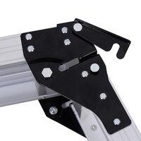 TFBC 775MM Aluminium Platform Work Bench Folding Step Ladder EN131 CE 150Kg Hop UP