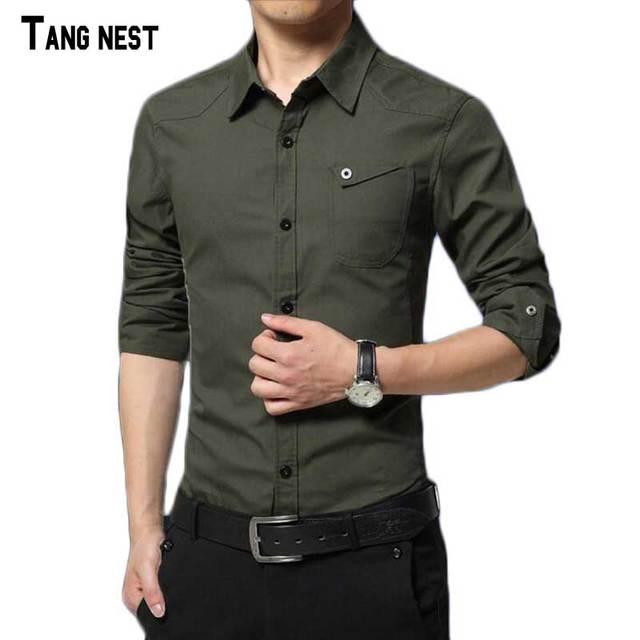 2017 Новое Прибытие мужская Мода Бизнес Стиль Рубашки Мужчин Хлопка Slim Fit Рубашки Высокого Качества Рубашки Для Мужчин MCL1535