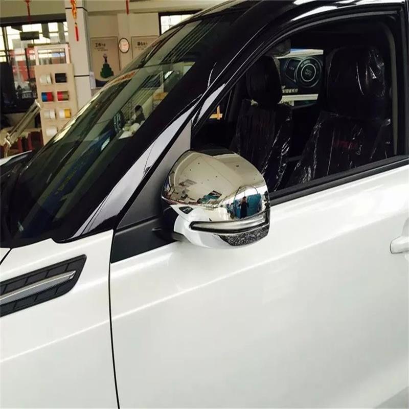 For 2015 2016 2017 Suzuki Vitara Escudo ABS Chrome Rear View Mirror Cover Side Rearview Mirror Covers Car Styling Accessories купить шины goodyear assymmetric 2255516
