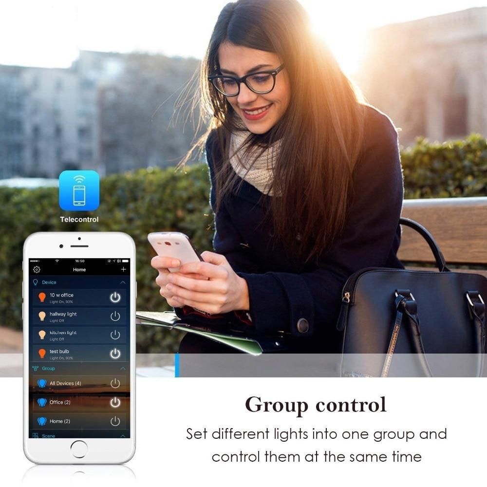 HTB11FAHdBGw3KVjSZFwq6zQ2FXaR 5050 RGB LED Strip Phone Control Wireless WiFi Tape Works With Amazon Alexa Google Home IFFFT DC 12V Flexible Strip Light+Power