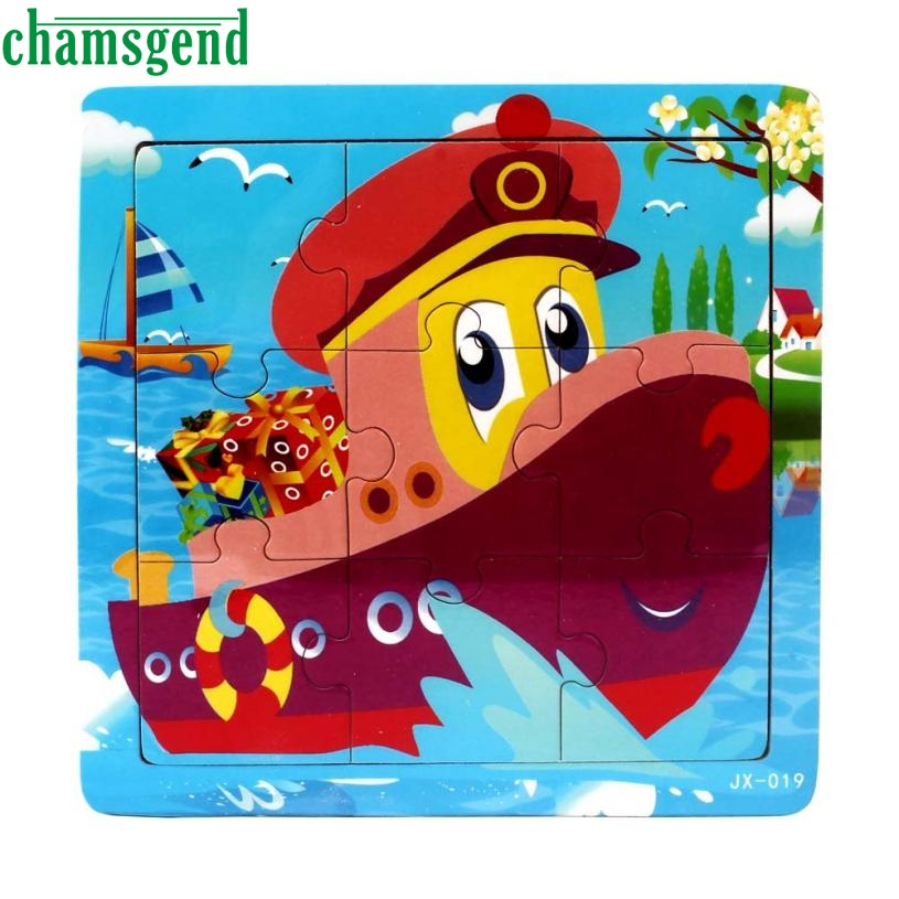 2018 High Quality Wooden Kids Jigsaw Toys For Children