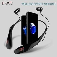 Wholesale ELFMIC Wireless Stereo Bluetooth Headset Music Headphone Sport Earphone Handsfree In-Ear Earbuds MP3 Media Play
