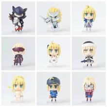 Anime figurine Nendoroid Cute Fate/Grand Order kids Toys Doll brinquedos PVC Action Figure Collectible Model Fate/GO Saber(China)