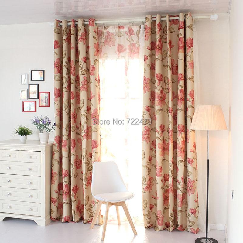 moda de alta qualidade de pano da mscara de impresso cortina quarto seleo da janela cortina