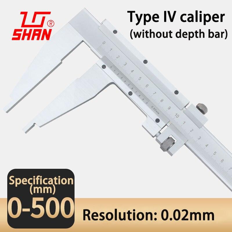 Pied à coulisse 0 500mm 0.02mm haute précision en acier inoxydable Vernier étriers numérique diamètre intérieur et extérieur outil de mesure - 2