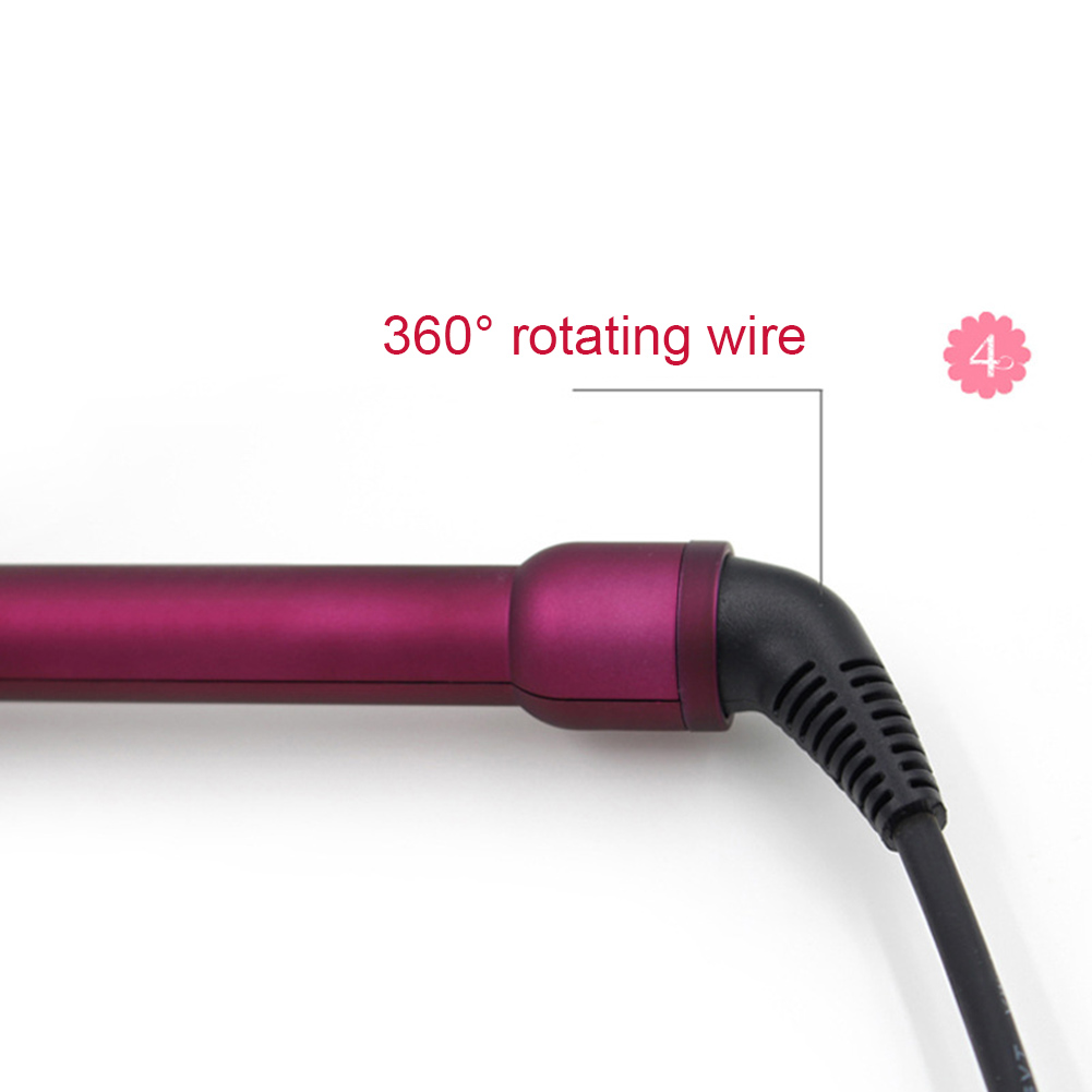 Professional 9mm Mini Hair Curler for Men Women Curling Iron Wand Roller Beauty Hairstyle Tools HJL2018