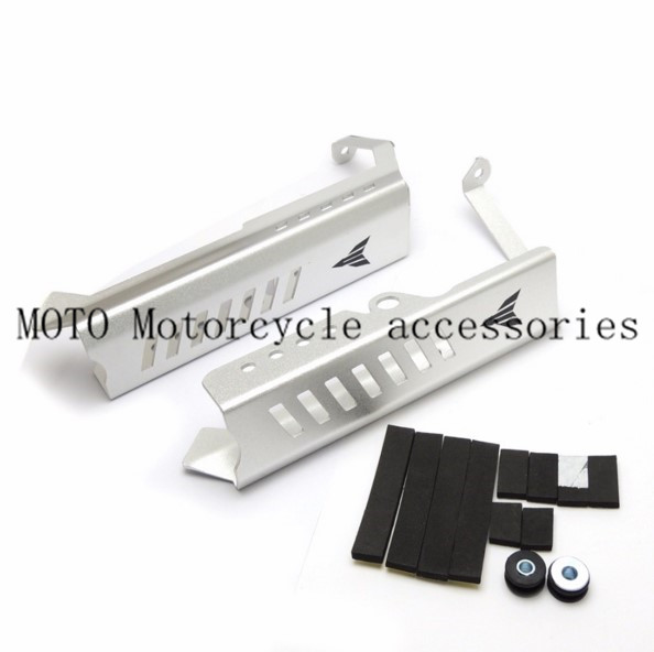 Motorcycle Radiator Grille Guard Protector Side Covers For Yamaha MT-09 MT 09 FZ 09 FZ09 M 2014 2015 2016 Radiator Side Cover motorcycle cnc radiator grille radiator side guard cover protector for yamaha fz09 mt09 mt 09 2014 2015 2016