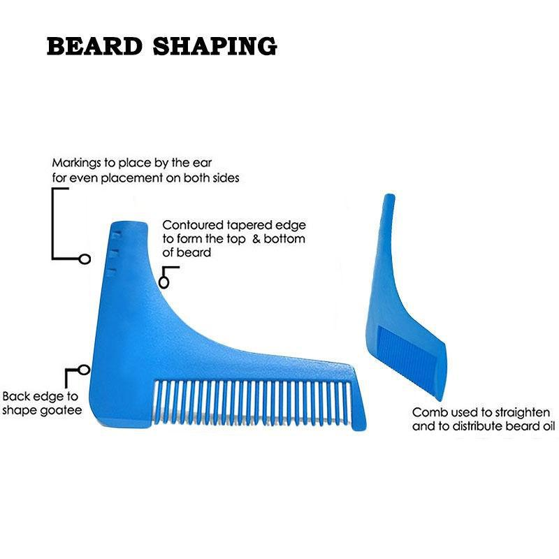 graphic relating to Beard Shaping Template Printable identified as US $2.86 2computers Comb Beard Shaping Device Person Guy Beard Slender Template Hair Minimize Hair Molding Slender Template Beard-within just Combs in opposition to Natural beauty Fitness upon