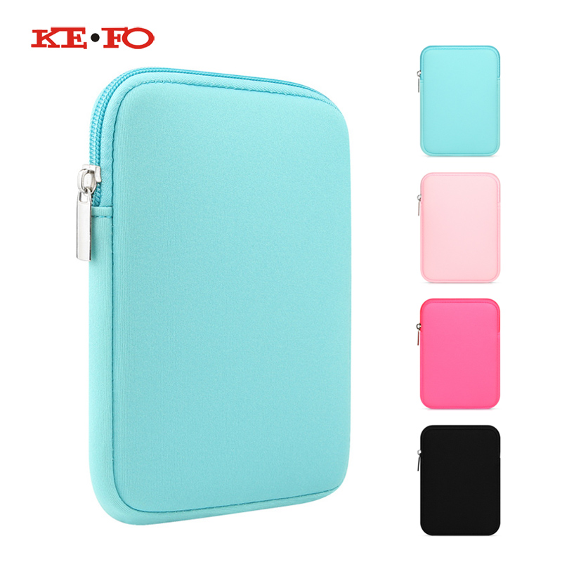 Funda Cover Case For Kobo Aura One 7.8 inch EReader Zipper Sleeve Bag Pouch Cover case for kobo aura one Cases For tablet 7 inch