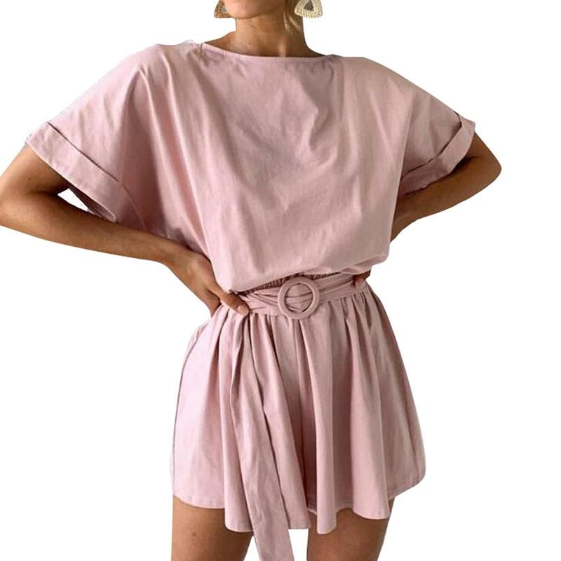 reputable site 226be 8afcf KL695 Sommer overall overall frauen sets fashion solid combishort frauen  overalls casual shorts heißer verkauf schwarz weiß
