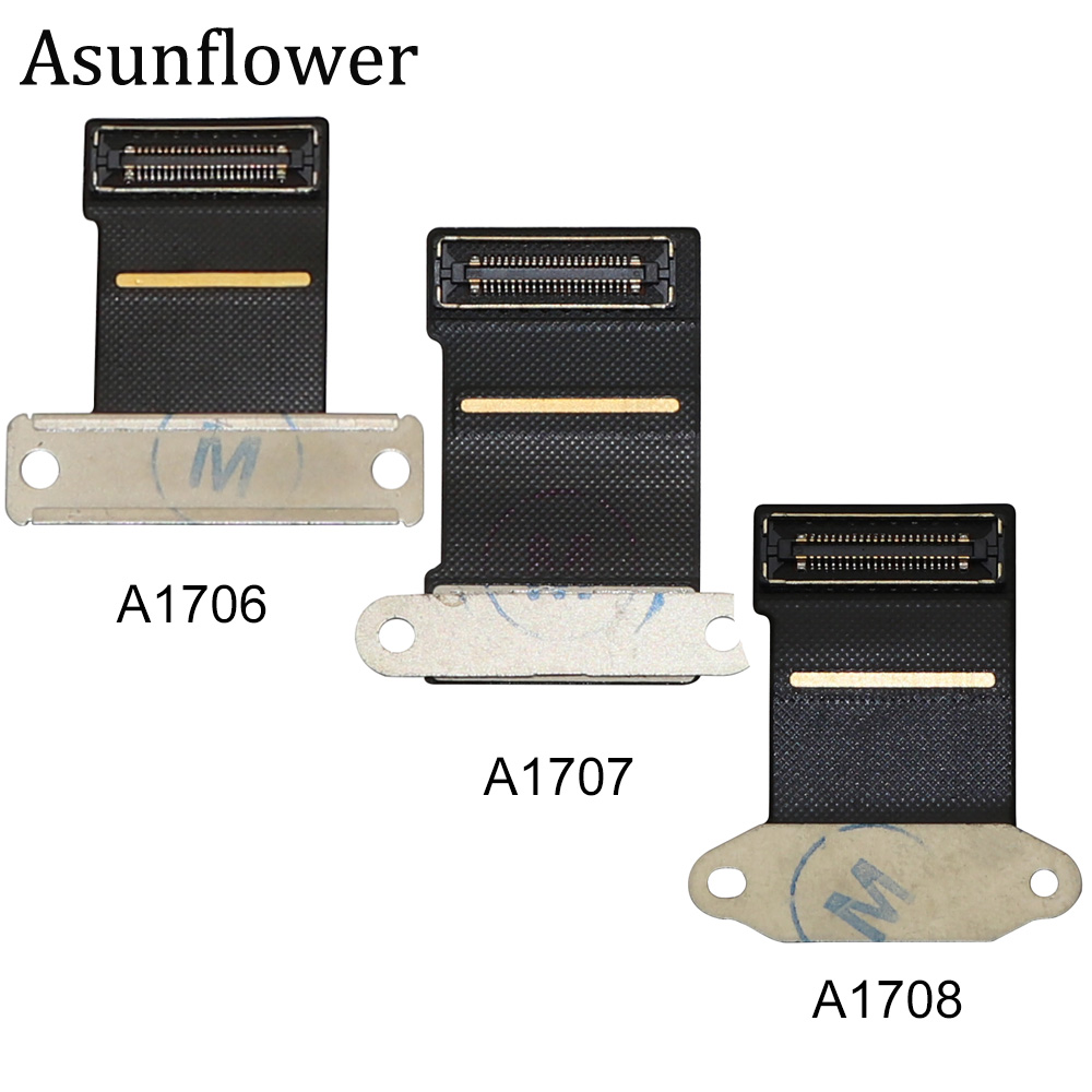 Asunflower Laptop A1706 A1707 A1708 LCD LED LVDs Screen Display Flex Cable For Macbook Pro Retina 13 15 2016 2017 Year