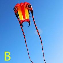 Высокое качество, новые большие трилобиты, воздушный змей Рипстоп, нейлоновые игрушки для улицы, летающие парашютные воздушные змеи для взрослых, воздушные змеи осьминога